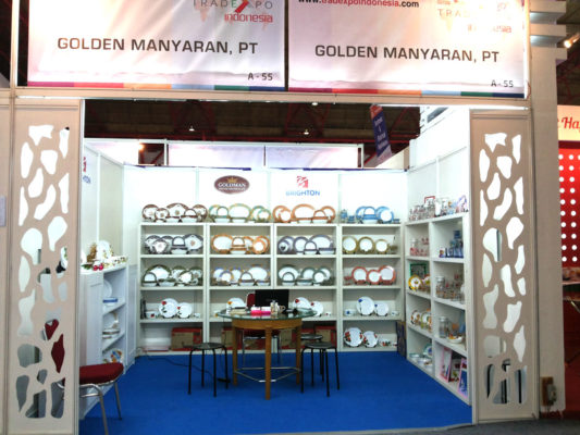 Golden Manyaran at Trade Expo 2015
